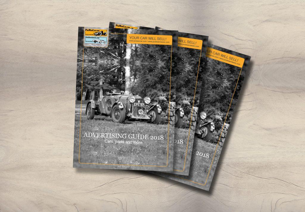 Portfolio, Brochure, PreWarCar