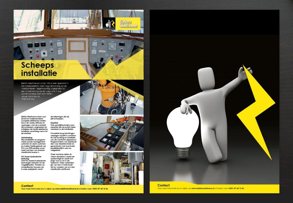Westhoeve, ontwerp, leaflet