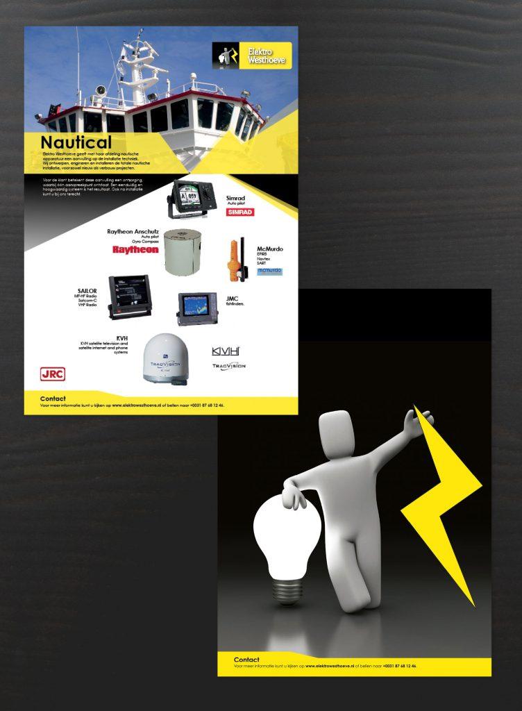 Elektro Westhoeve, Weten, grafisch ontwerp, vormgeven, leaflet